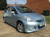 HONDA JAZZ SPORTS**LADY OWNER**2 KEYS**11 SERVICE STAMPS**LONG MOT**HPI CLEAR**