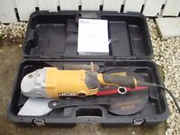 JCB- AG2300 angle grinder and cutting disc for sale