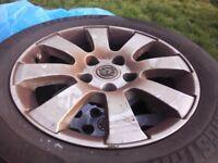 Vauxhal astra alloys