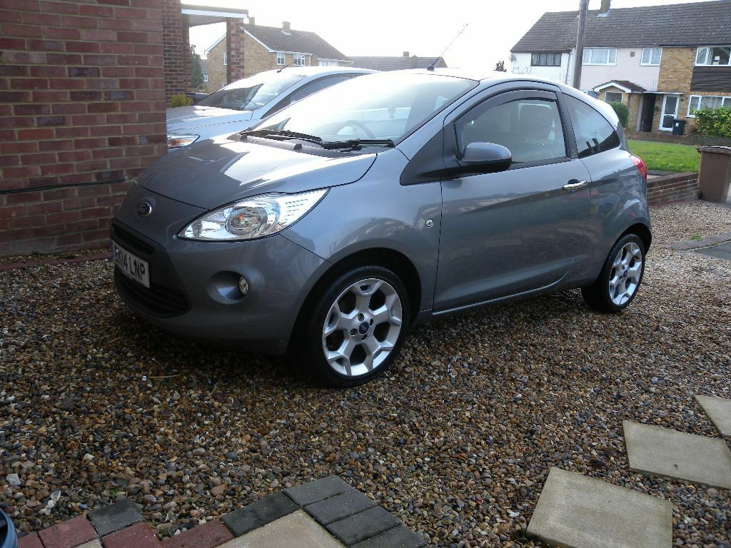 2014 ford ka titanium grey top spec low mileage in chelmsford essex gumtree. Black Bedroom Furniture Sets. Home Design Ideas