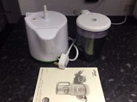 Philips AVENT Combined Steamer and Blender for BABIES