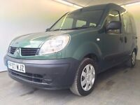 2007 | Renault Kango 1.2 Authentique |Manual |Petrol | 1 Former Keeper |Disability Wheelchair Access