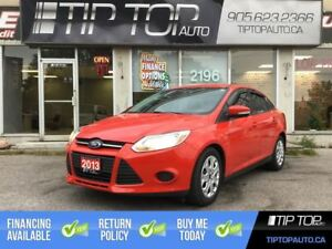 2013 Ford Focus SE ** Bluetooth, Well Equipped, Affordable **