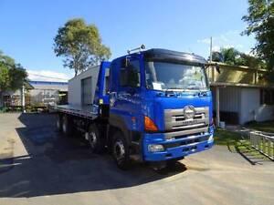 NEW Ekebol Tilt & Slide on Hino FY 8 x 4 $179,000 + GST Eagle Farm Brisbane North East Preview
