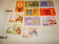 small stamp collection