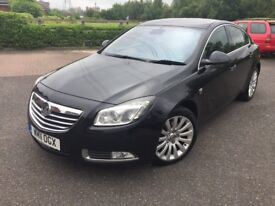VAUXHALL INSIGNIA ELITE 2011 ONE OWNER FROM NEW 1 YEAR MOT NO ADVISORY FULL LEATHER PARKING SENSOR