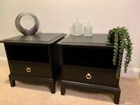 Stag Minstrel Bedside Cabinets, Bedside Tables, Drawers - Courier 🚚
