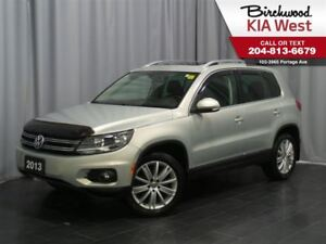2013 Volkswagen Tiguan Highline *Panoramic Sunroof/ Bluetooth*