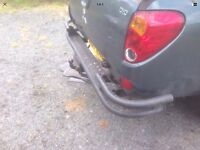 Mitsubishi l200 rear wrap around tow bar and step. £70