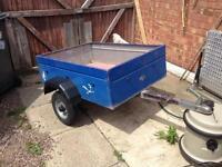 Aluminium trailer , camping , car boot or tip runs.