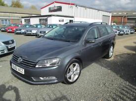 Volkswagen Passat 1.6 TDI BLUEMOTION TECH SE 5dr ESTATE + FULL SERVICE HISTORY (grey) 2012