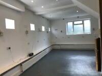 Secure, dry, heated space for storage, archiving, furniture - robust brick built lockup etc