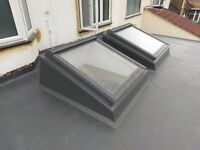 Fiberglass flat roofs, good prices, all London areas, certificate between 15-50 years warranty.