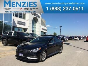 2015 Hyundai Sonata Sport, Bluetooth, Leather, Clean Carproof