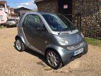 Smart Fortwo 0.7 City Pulse Low miles Pan Roof 3 months warranty