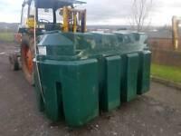 Titan 2500 litre bunded oil tank or diesel bio storage