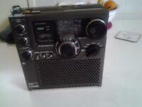 Sony FM/AM multi band radio. model ICF-5900W.