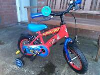 Boys paw patrol bike