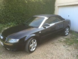Audi A4 Convertible 3.0 Sport. CVT Auto. Very Fast and Smooth.!