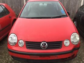 VW Polo 1.2 2003 for breaking. Many parts still available
