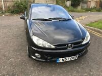2007 Peugeot 206 Manual @07445775115 Low Mileage Car 3 Months Warranty Included