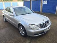 2005 MERCEDES-BENZ S320 CDI AUTOMATIC / PLAYSTATION AND MONITORS!