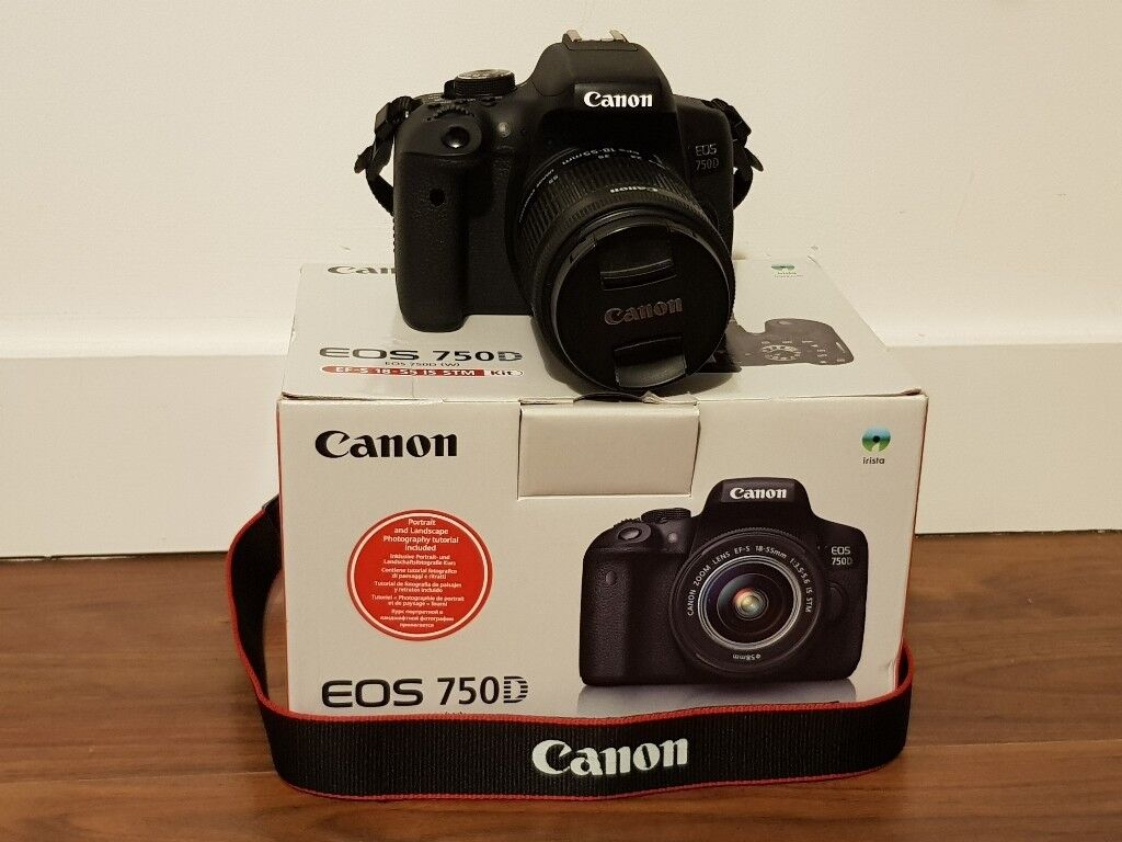 Canon Eos 750d Dslr Camera In Southampton Hampshire Gumtree 760d Body Only 760 Bo