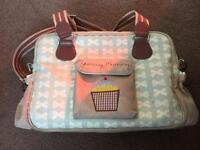 Yummy mummy pink lining nappy/changing bag