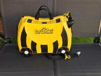 Trunki Bernard The Bee ride on trunki suitcase.