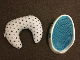 Angel Care Bath Support and Nursing Pillow