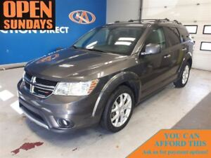 2015 Dodge Journey R/T, 7 PASS, LEATHER, HEATED SEATS & WHEEL!