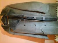 genuine sheepskin coat size 42