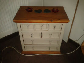 Multi draw unit annie sloan painted lovely piece of well made furniture