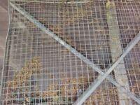 Large mesh panels