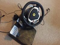 Thrustmaster F430 racing wheel