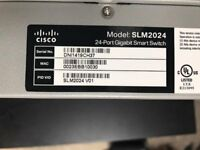 CISCO SLM2024 24 PORT GIGABIT SMART SWITCH