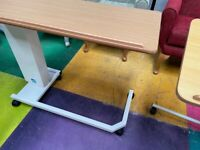 Hospital Overbed Table/Rise and Fall Elderly Disabled Overbed Table