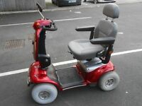RED 4 - 8 MPH MOBILITY SCOOTER