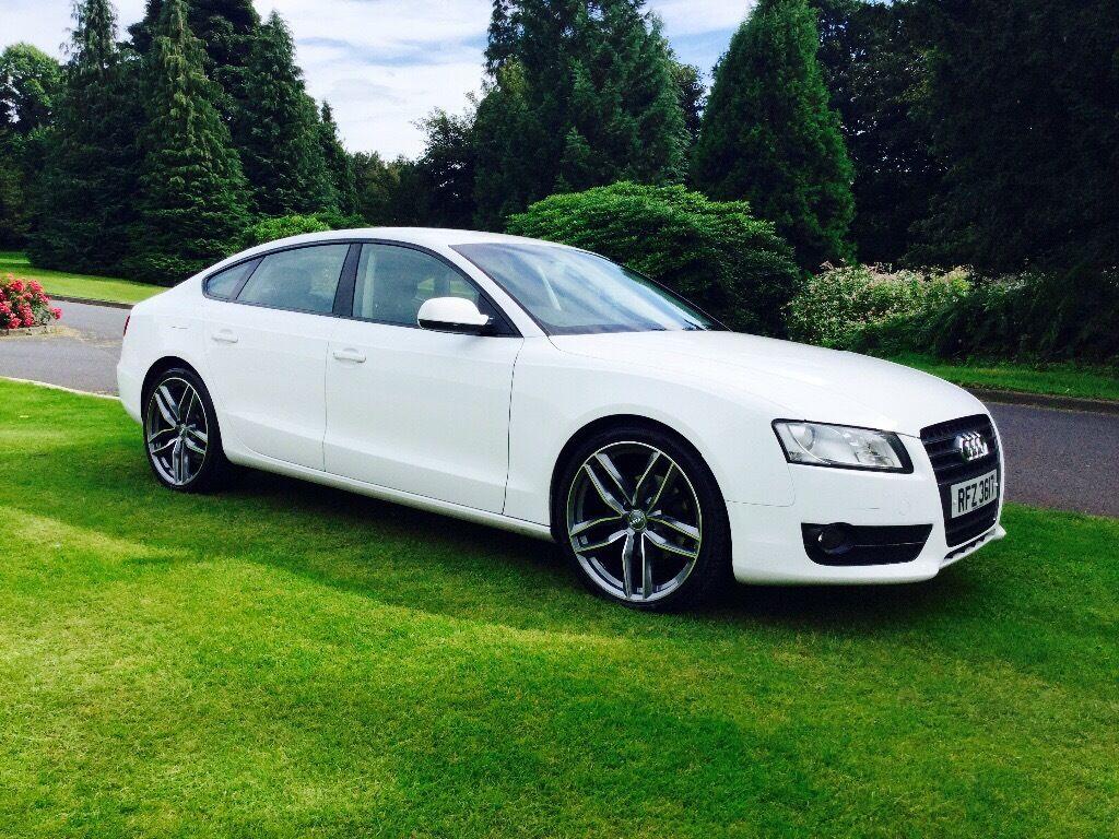 Audi A5 2.0 TDI SE diesel full black leather £9,950!
