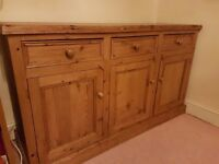 SIDEBOARD - SOLID WOOD