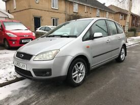 Ford Focus C max 1 year M.O.T