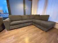 L-Shape Sofa with built in Sofabed