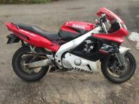 YAMAHA THUNDERCAT YZF 600 1999 BREAKING PARTS SPARES & REPAIRS