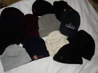 100 WINTER HATS BULK BUY/ JOB LOT