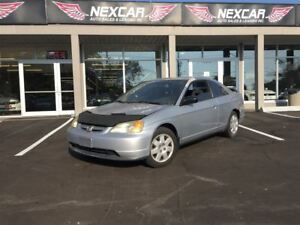 2002 Honda Civic Coupe A/C CRUISE 302K