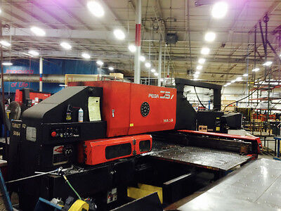 Amada Pega 357 Cnc Turret Punch New 1992 - Fabricating Machinery