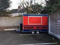 Burger trailer excellent condition
