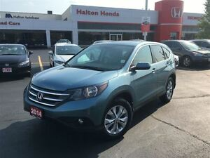2014 Honda CR-V EX-L | 5SP | ALLOYS | LEATHER | SUNROOF