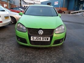 vw golf mk5 2004 gti , 2,0 petrol automatic for parts or repairing