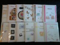 34 handmade cards £1.75 each
